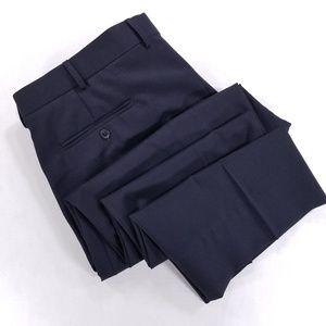 Tommy Hilfiger Flatfront black dress pants altered